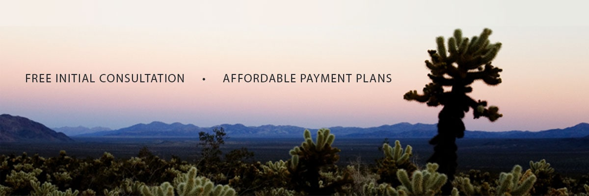 Free Initial Consultation - Affordable Payment Plans